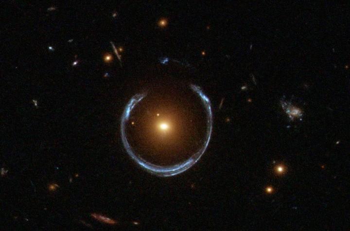 Mystery Gravitational Lens Hints at Possible Primordial Black Holes, Dark Matter