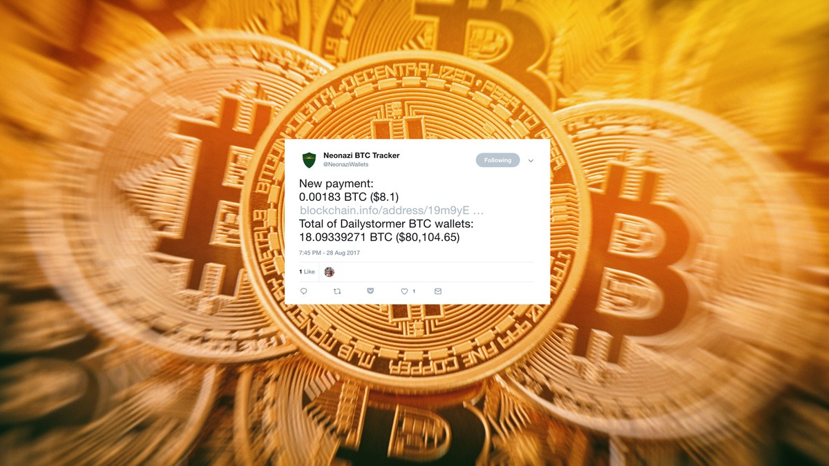 20bd6d953 This Twitter Bot Tracks Neo-Nazi Bitcoin Transactions - VICE