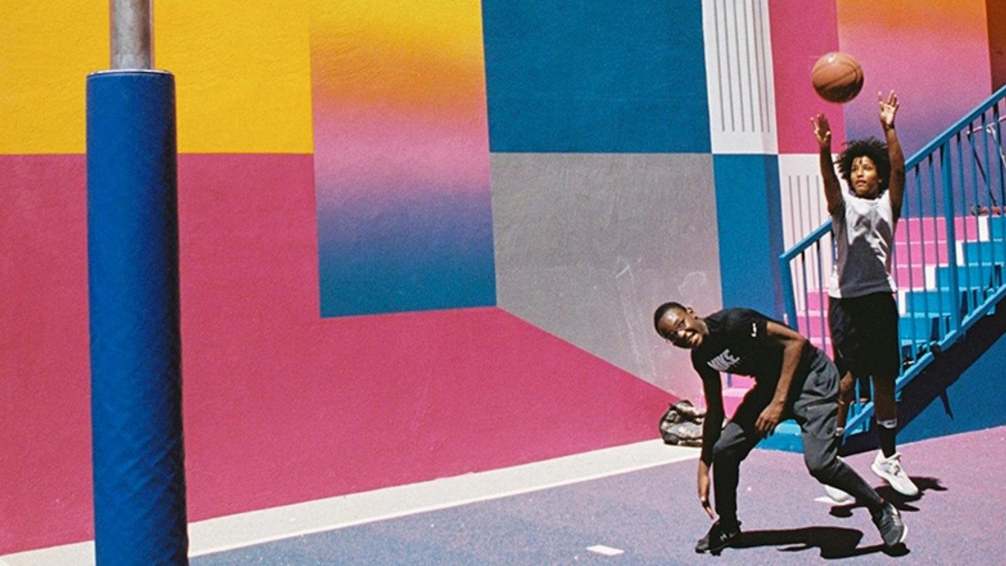 Potret Keajaiban Lapangan Basket Warna Warni Paris VICE