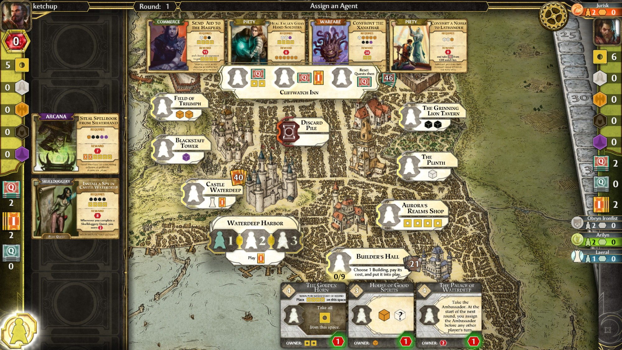 Lords of Waterdeep' Is a Great Board Game Adaptation but a Bad
