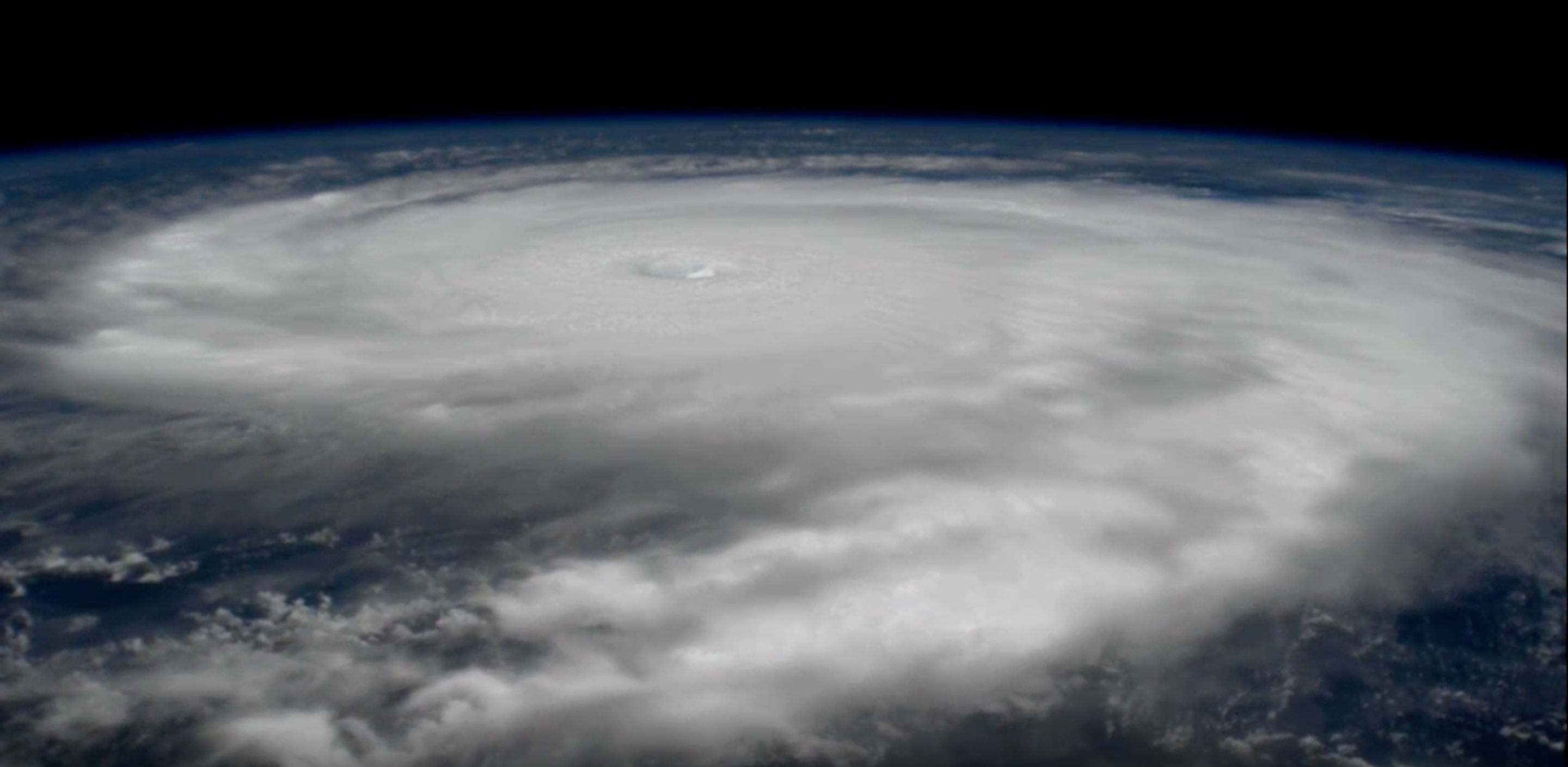 This Space Station Footage Of Hurricane Irma Shows Just