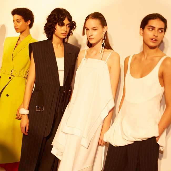 3 1 phillip lim's spring/summer 18 mantra: opposites attract - i-D