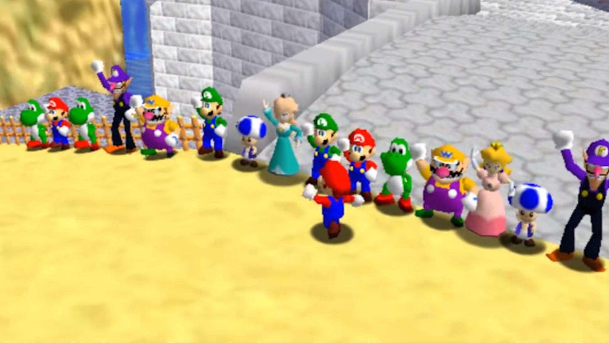 Nintendo Shuts Down the Internet's Favorite 'Super Mario 64