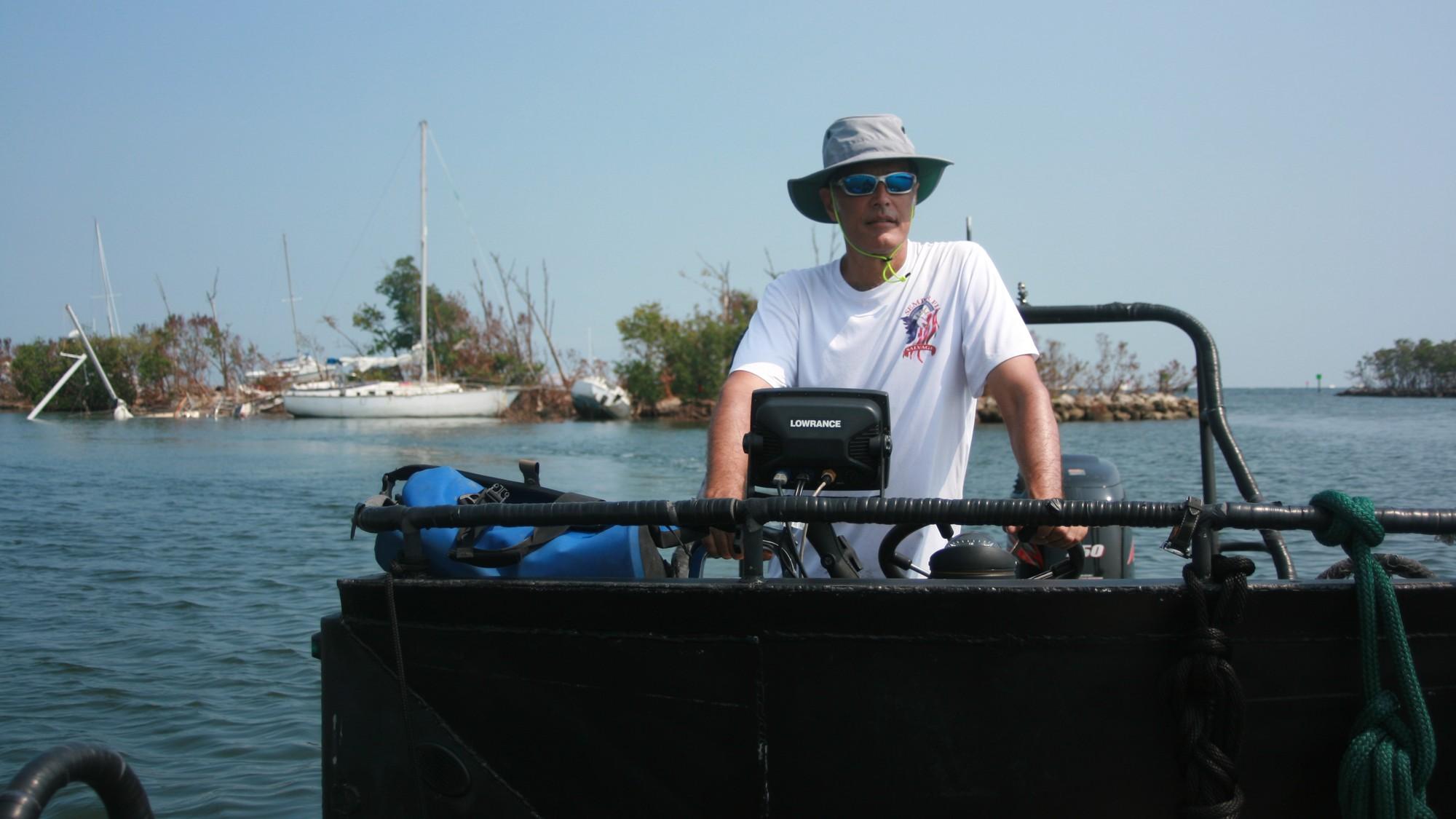 The Guys Cashing in on Hurricane Irma's Boat Destruction - VICE