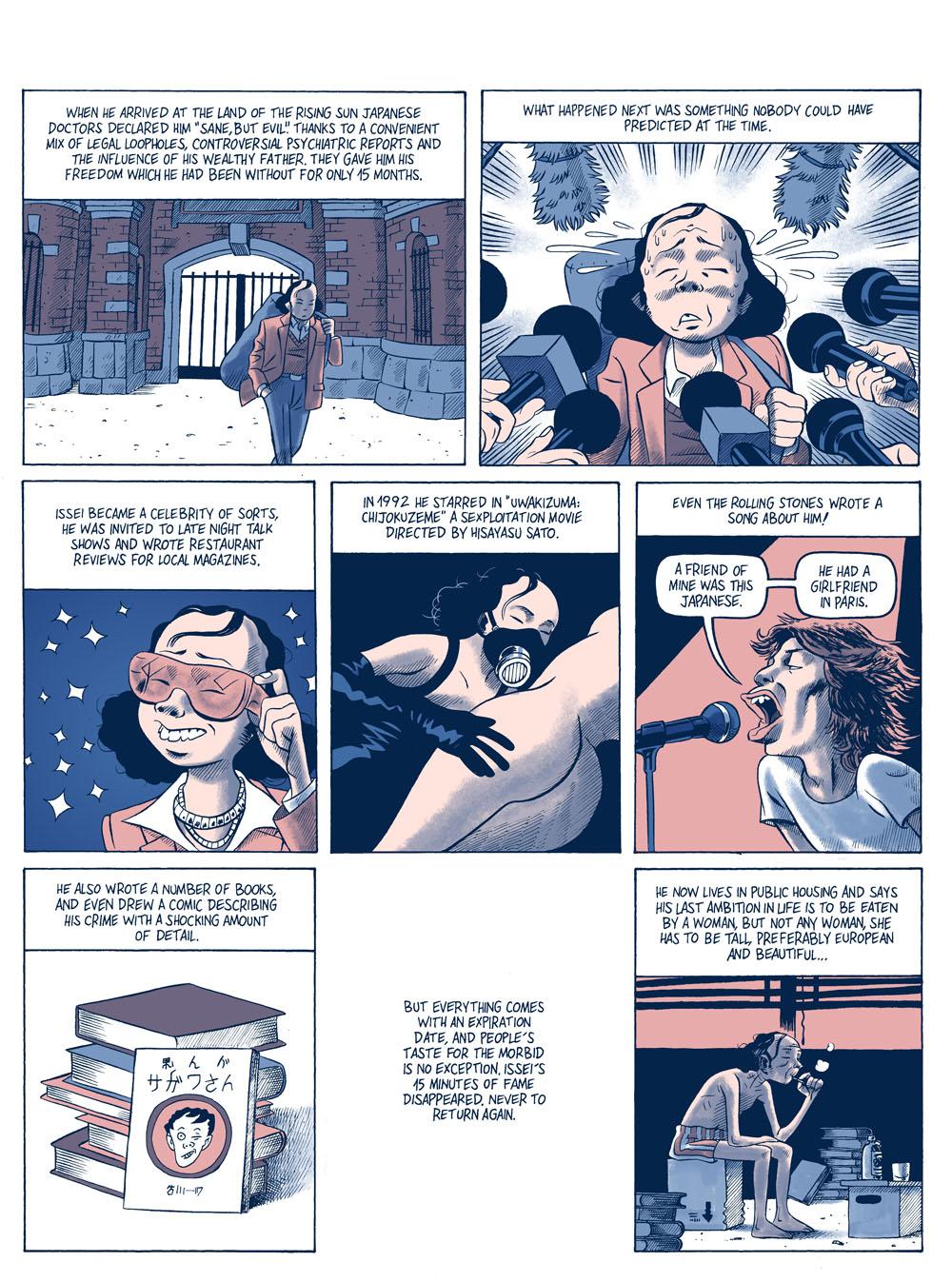 'A Hungry Artist,' Today's Comic by Matias San Juan