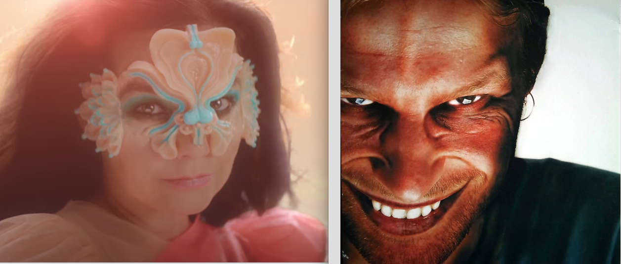 Björk and Aphex Twin Still Hang Out Over Email, Share Songs
