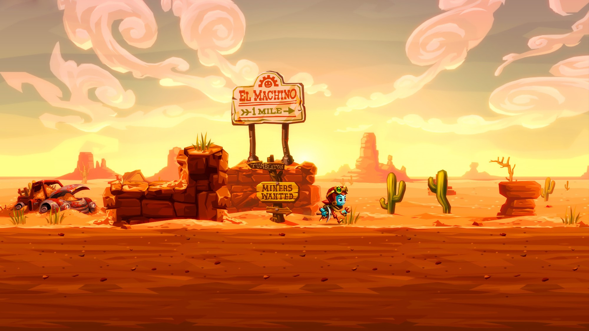 SteamWorld Dig 2' Is This Year's Most Satisfying Hole Digging