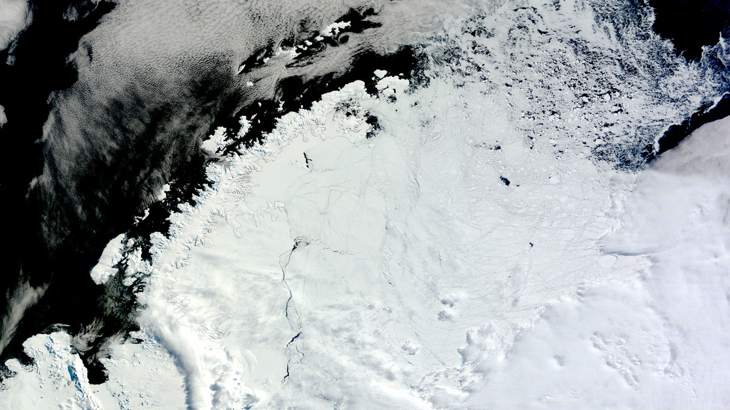 Giant hole the size of Maine reopens in Antarctica Weddell Sea