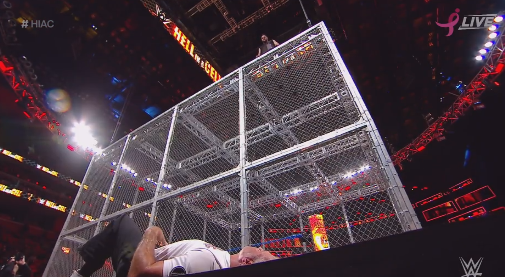 The Biggest Spectacle at Hell in a Cell? Friendship.