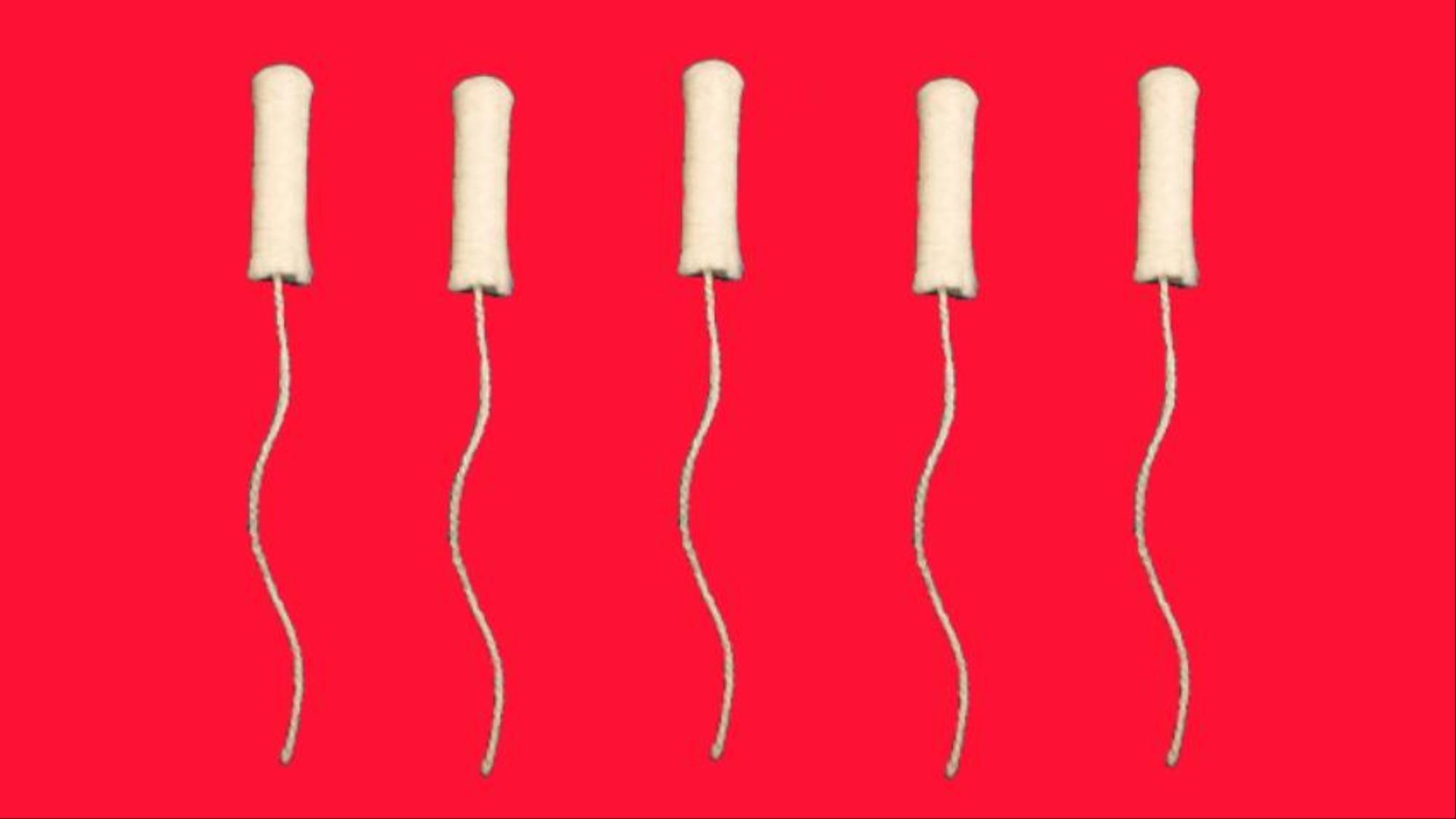 menstruationsblod