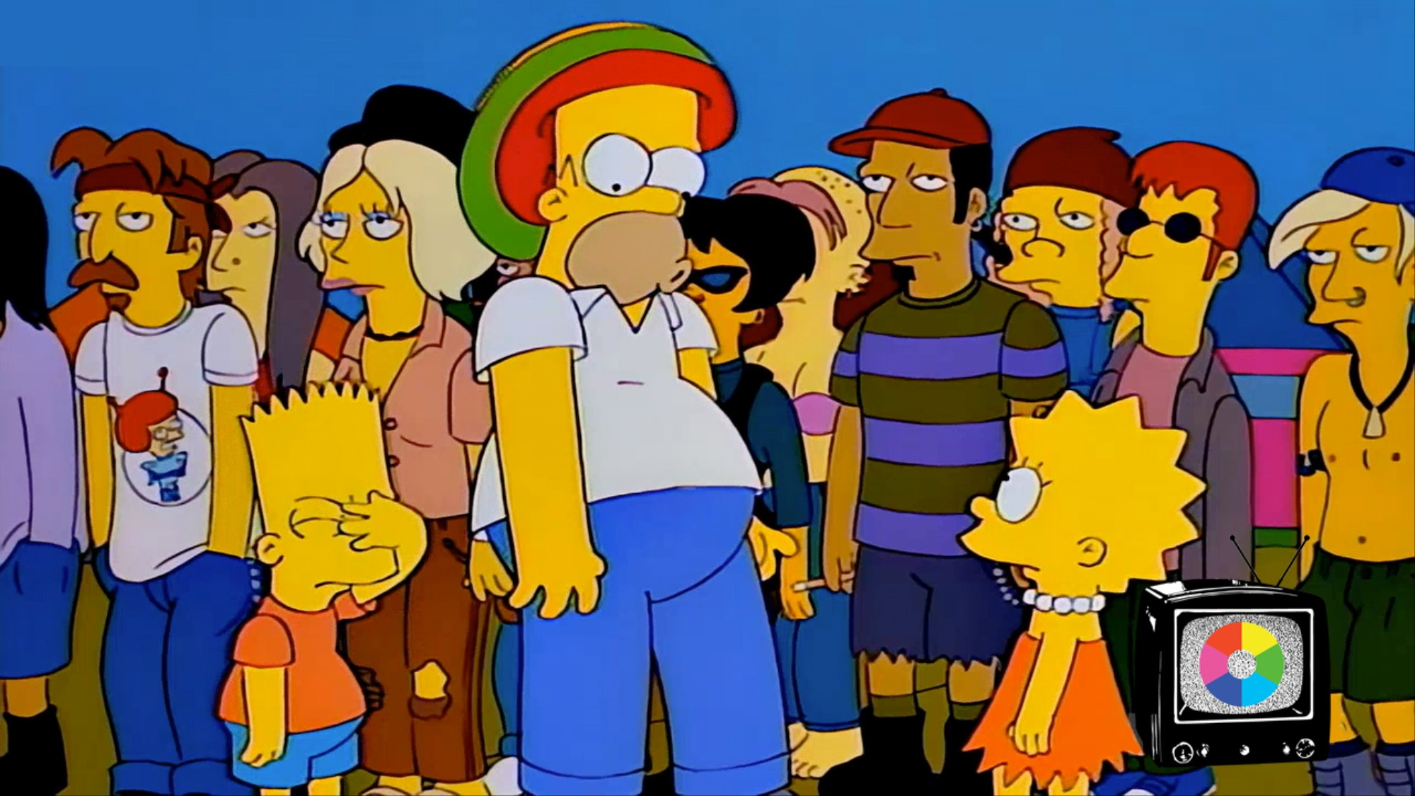 With 'Homerpalooza,' 'The Simpsons' Made Being Too Old to