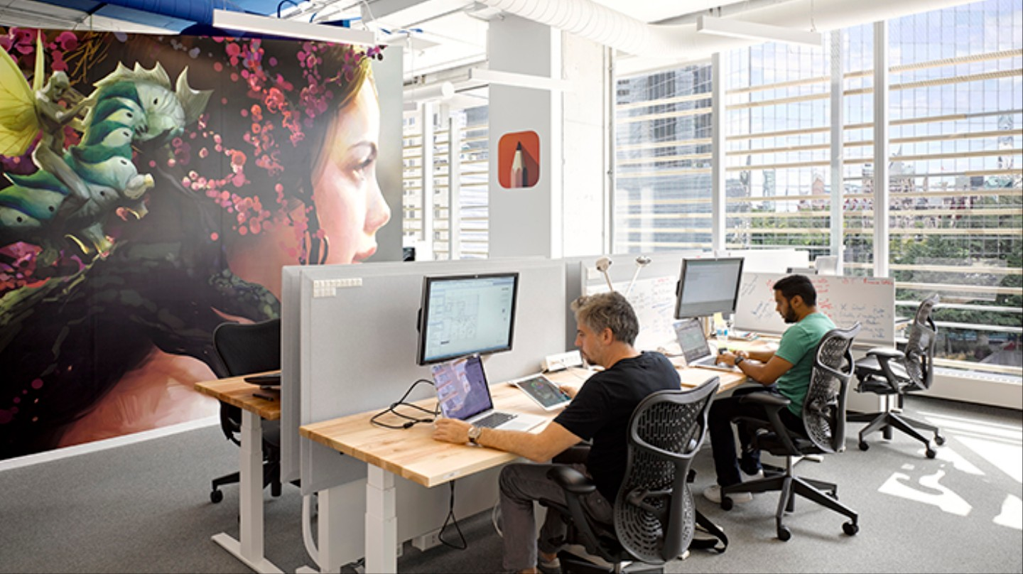 what it s like inside an office space designed by ai tanjo