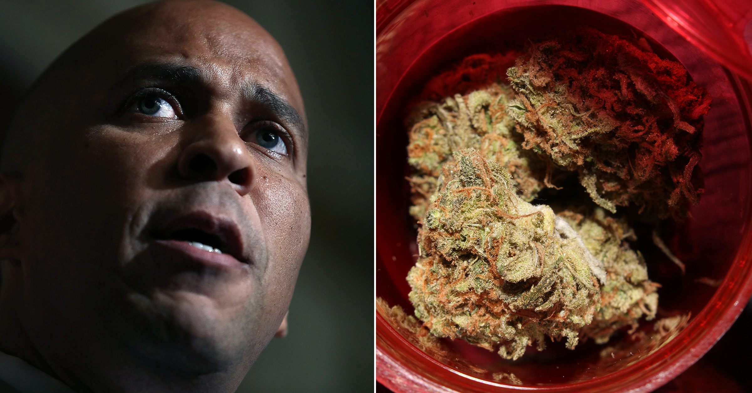 vice.com - Cory Booker Explains Why He's Making Legal Weed His Signature Issue