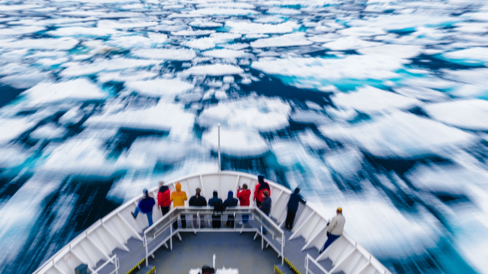 How to Rescue a Cruise Ship in the Northwest Passage