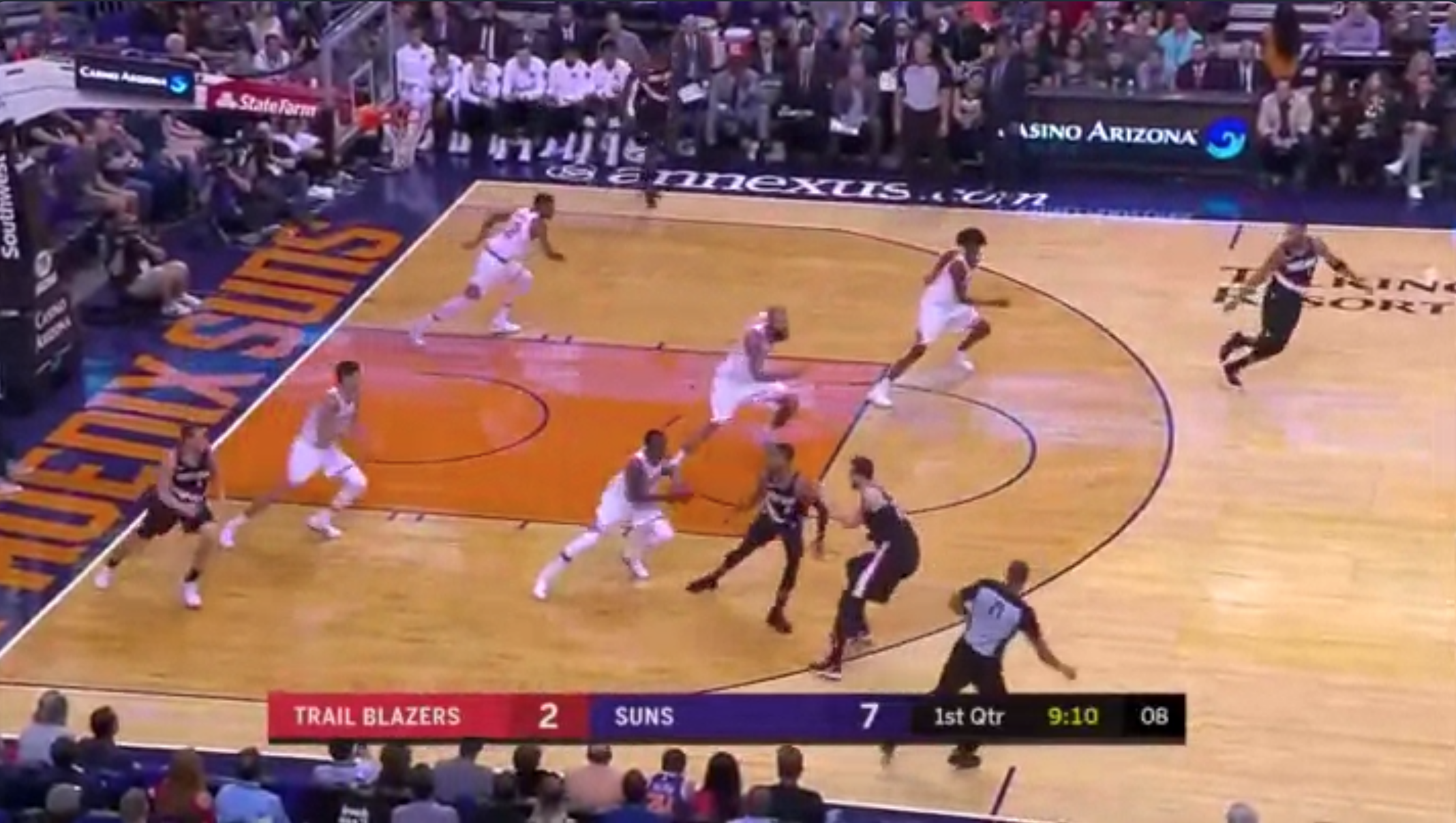This Phoenix Suns Fast Break Is Better Than Sex
