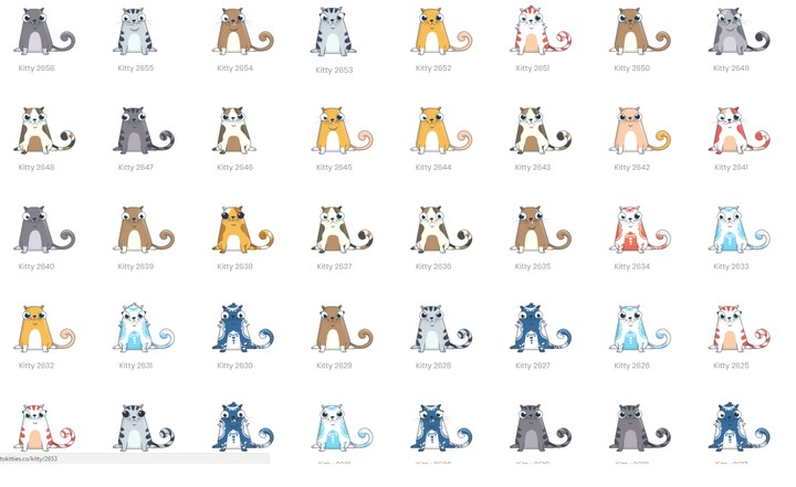 I Bred 'Crypto Kitties' on the Ethereum Blockchain
