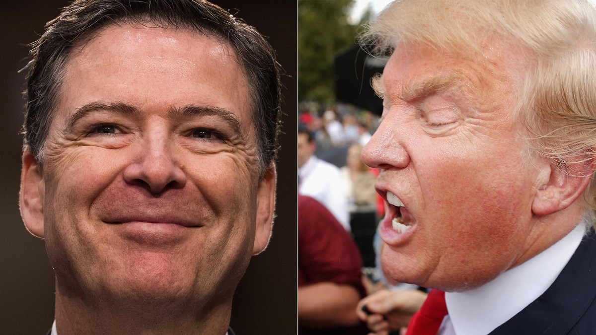 As Trump Melts Down, Comey Is Living His Best Life on Twitter