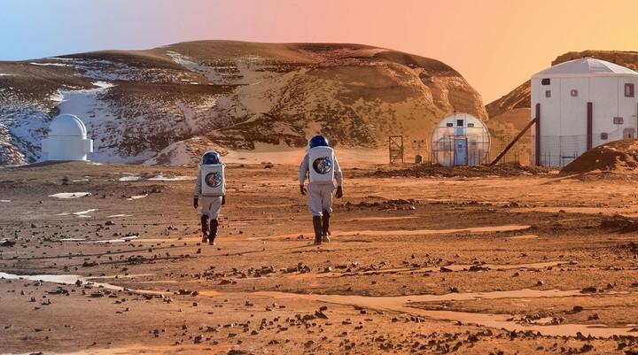 Chi vuole simulare una missione su Marte con questi studenti italiani?