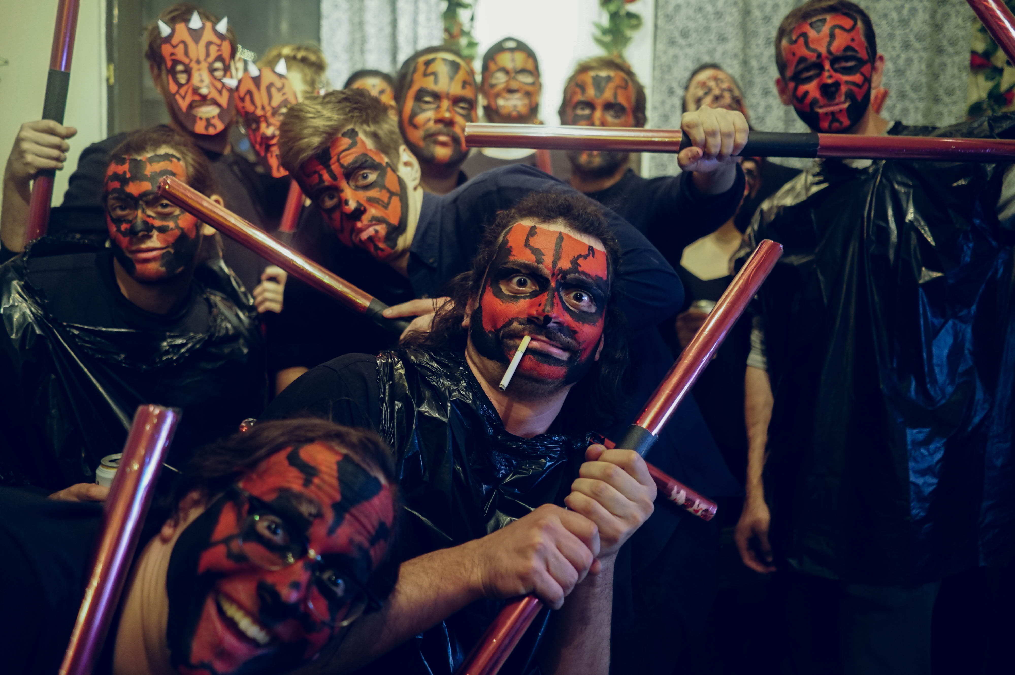 tip make everyone at your halloween party dress like darth maul vice