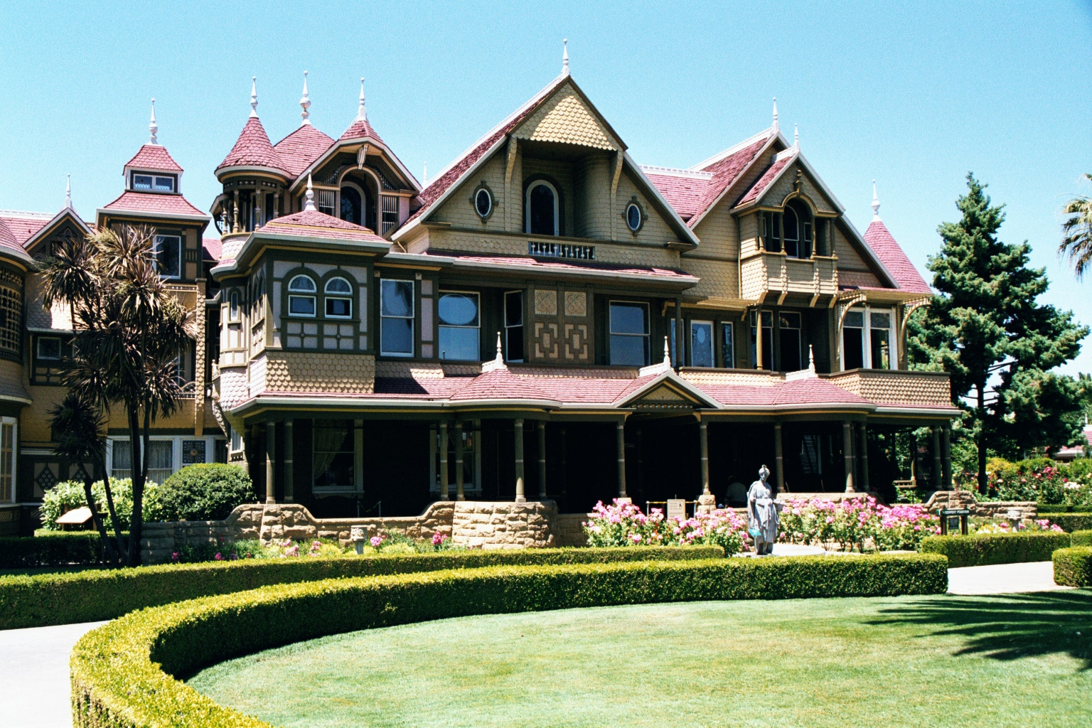 Front View Of The Mansion. Image: Ben Franske