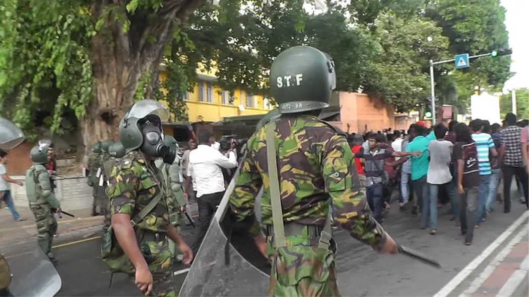 Undercover Footage Shows British Police Are Training Riot-Cops Linked to War Crimes in Sri Lanka