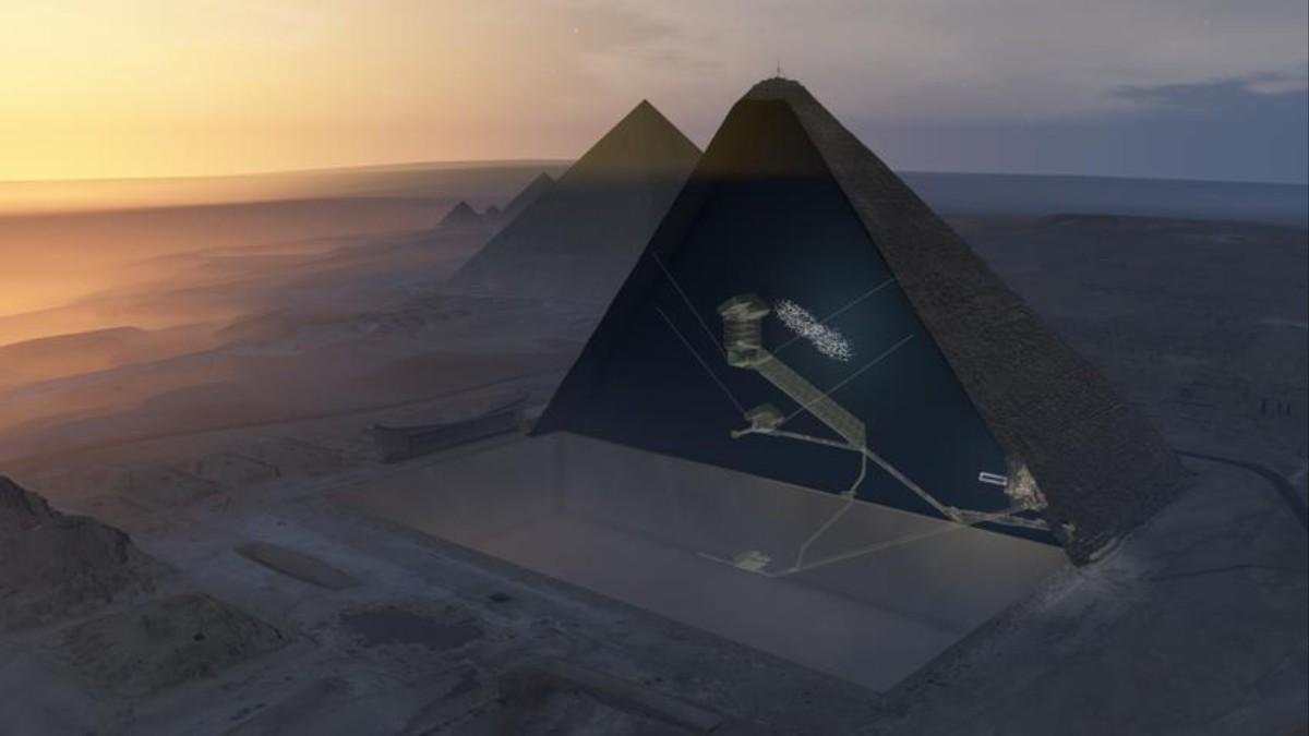Ditemukan Bilik Rahasia Dalam Piramida Agung Giza VICE