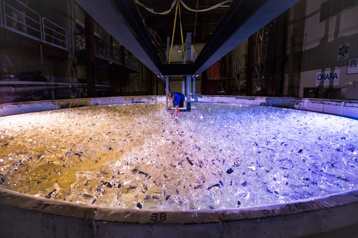 Watch the Casting of a Giant Mirror for the First Extremely Large Telescope