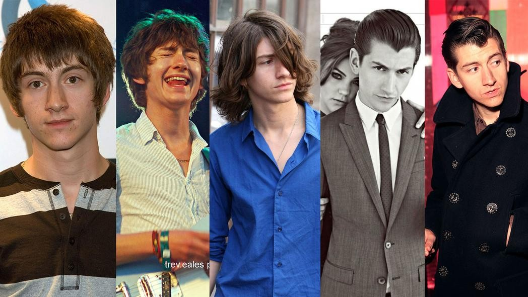 A History Of The Arctic Monkeys According To Alex Turner S Hair