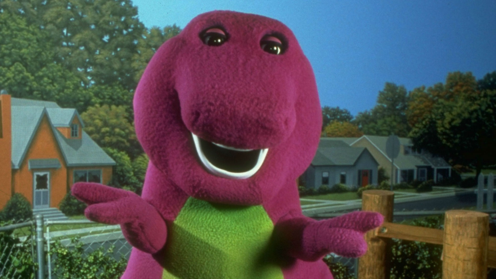 The Guy Who Played Barney the Dinosaur Now Runs a Tantric