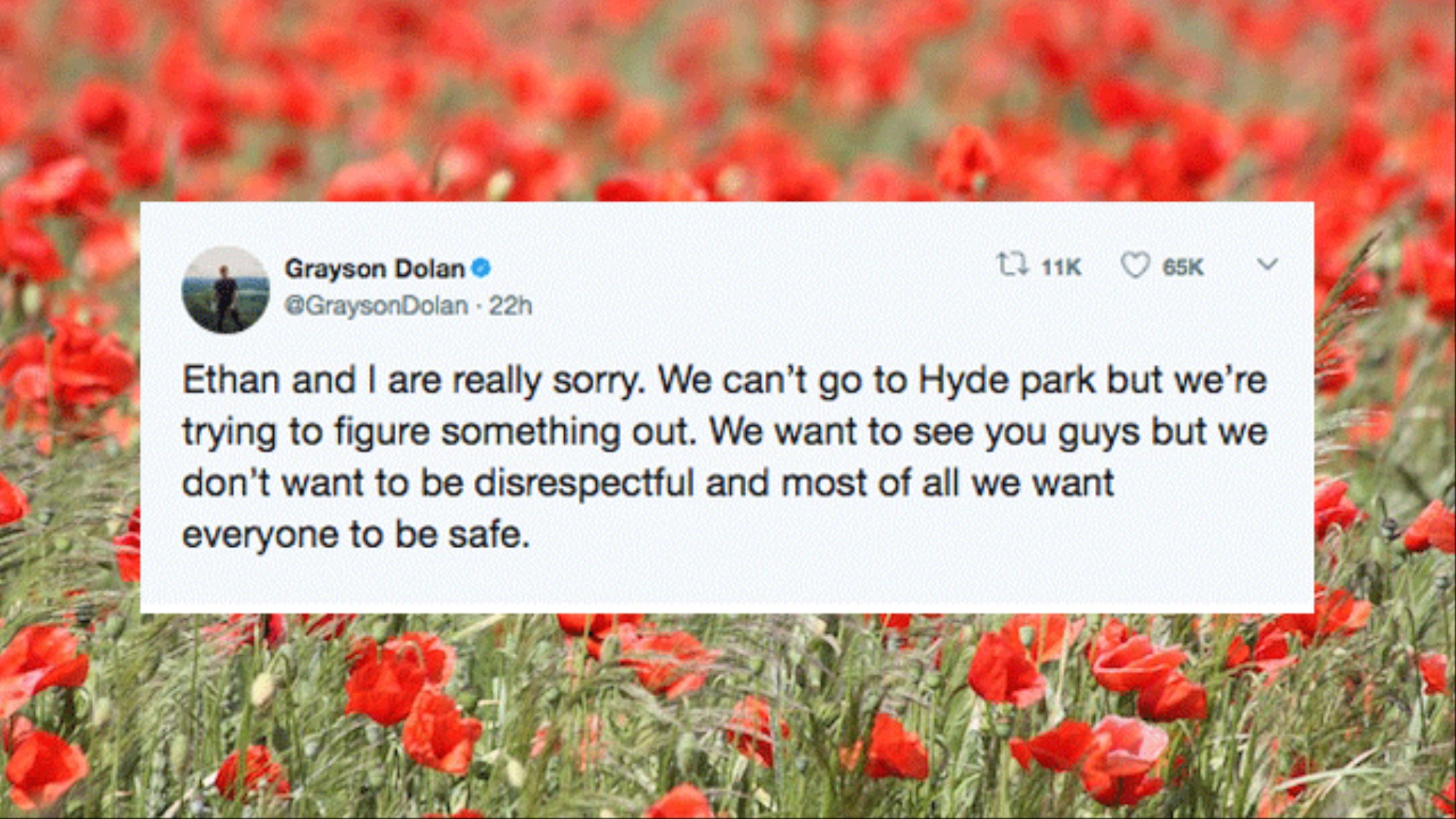 Five Questions About… The Dolan Twins' Hyde Park Respect