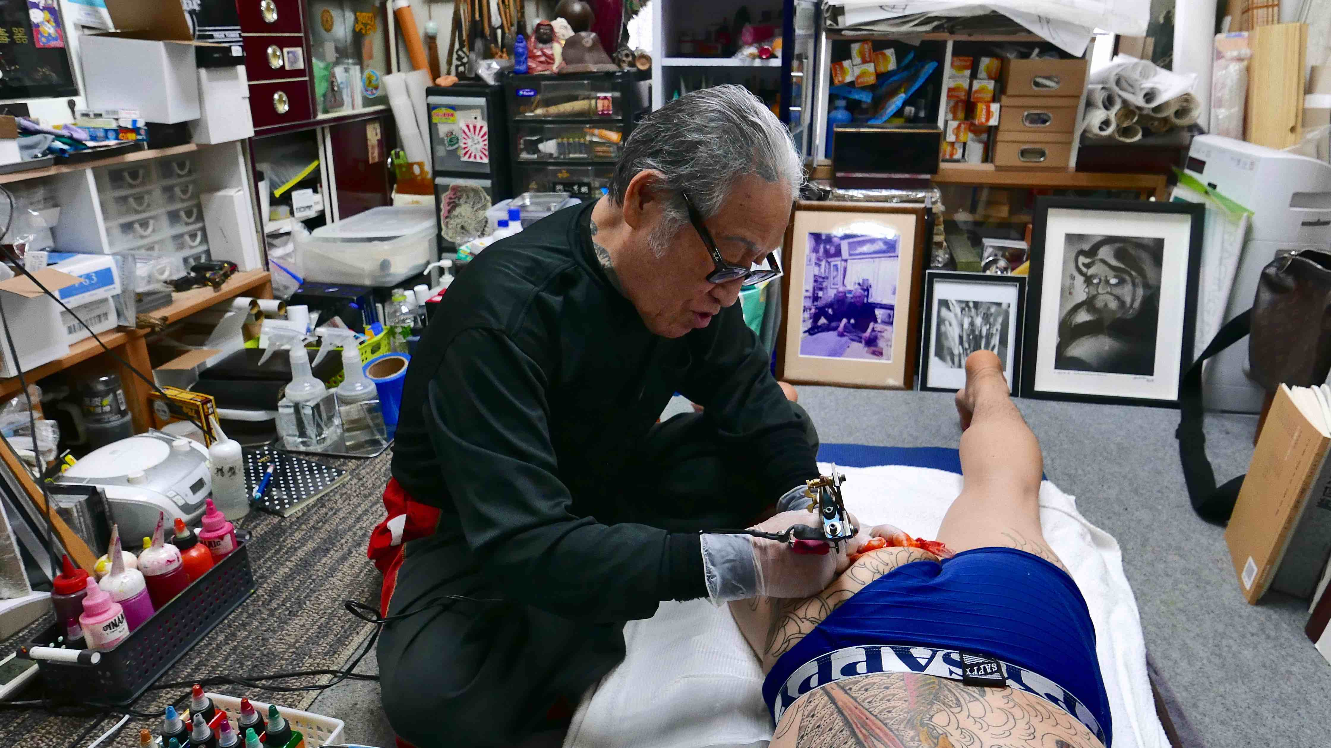 dc2bdd26485ed The Tattooist for the Yakuza Explains Why Tattoos Should Never Be Seen.
