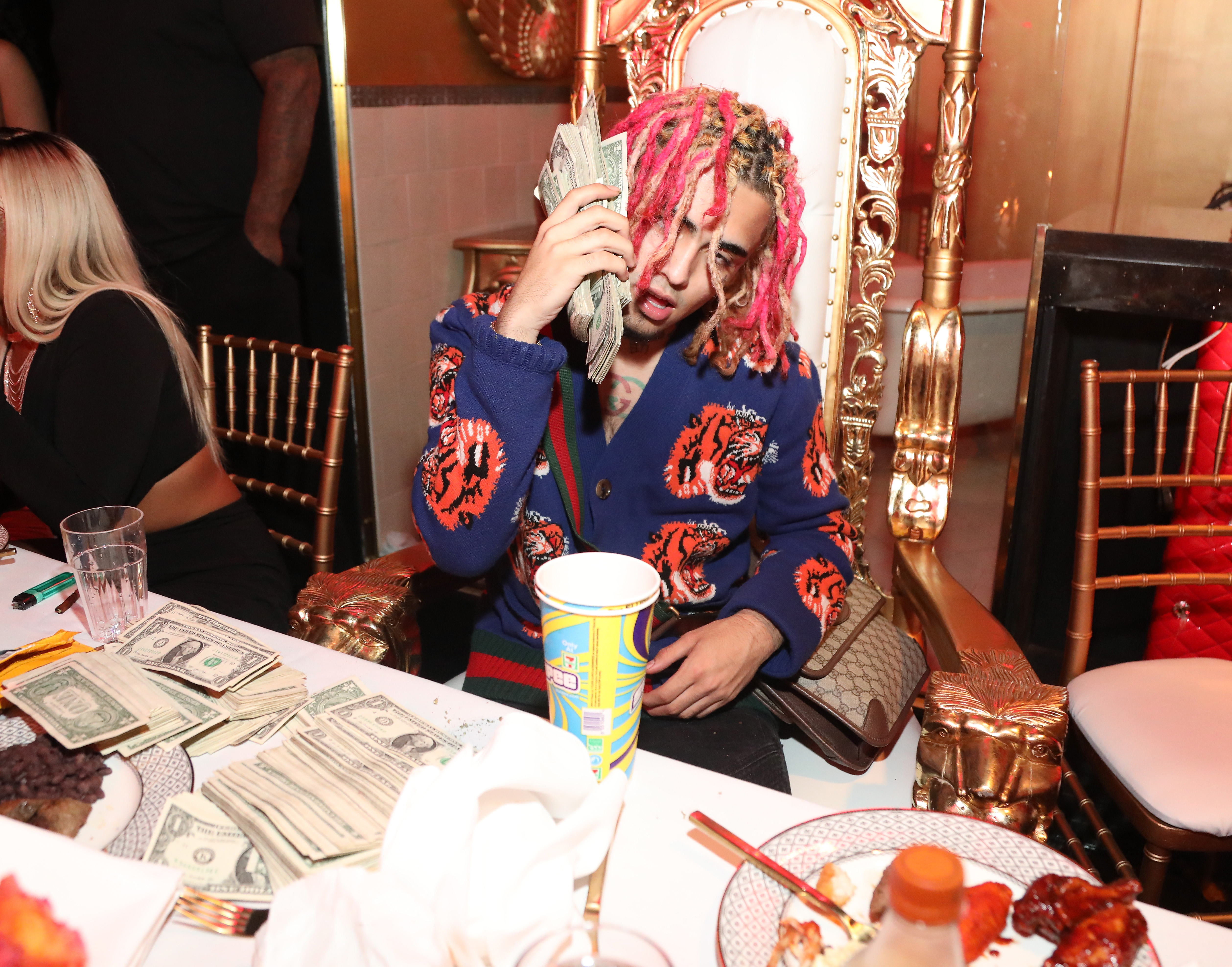 e11fcc9f811 Is Lil Pump the Best Gucci Obsessive in the World  - GARAGE