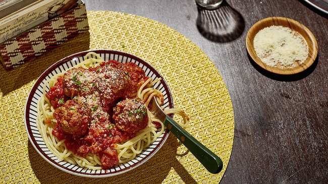 Spaghetti and meatballs munchies photo by heami lee forumfinder Images