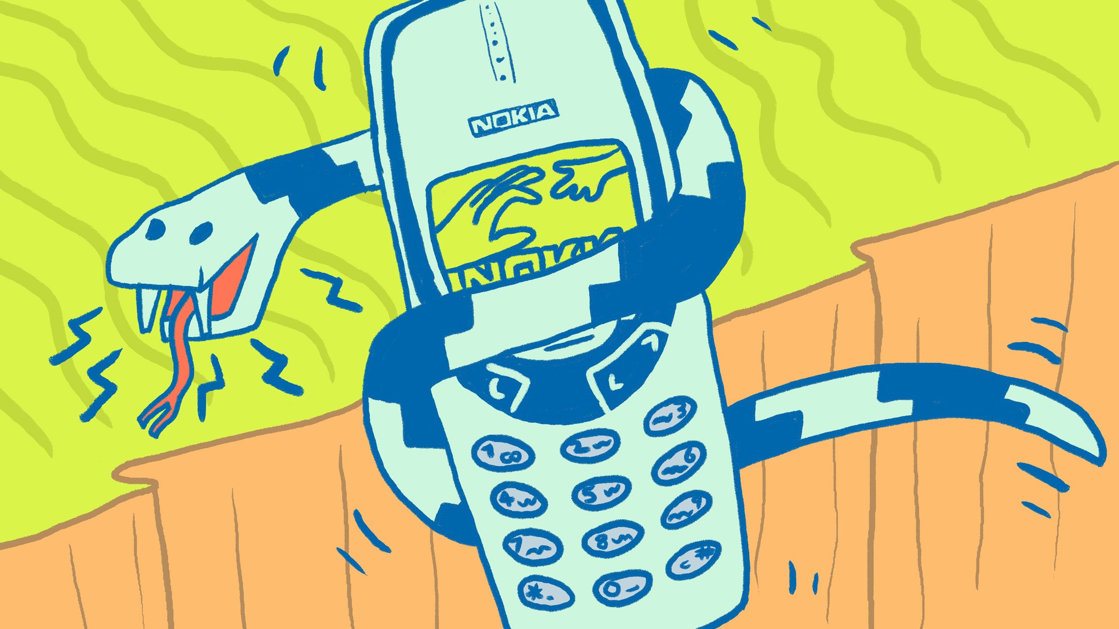 Image result for nokia 3310 art