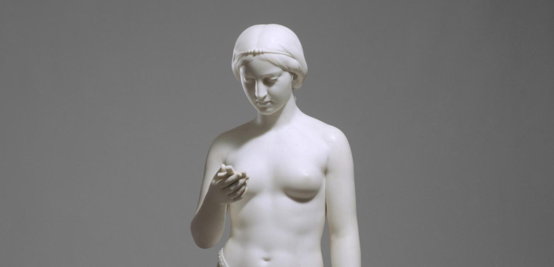 Blowjob Blooper Girls Posing Topless In A Sculpture