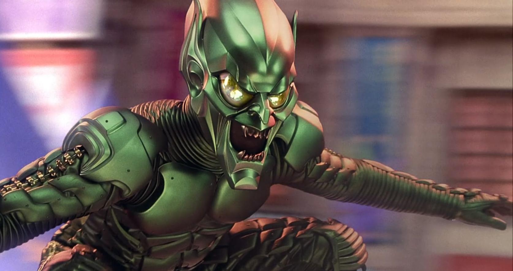 willem dafoe s green goblin was the best superhero villain actually