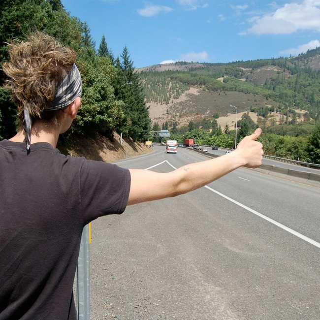 Hitchhikers By Side Of Road >> We Asked People For Their Wildest Hitchhiking Stories Vice