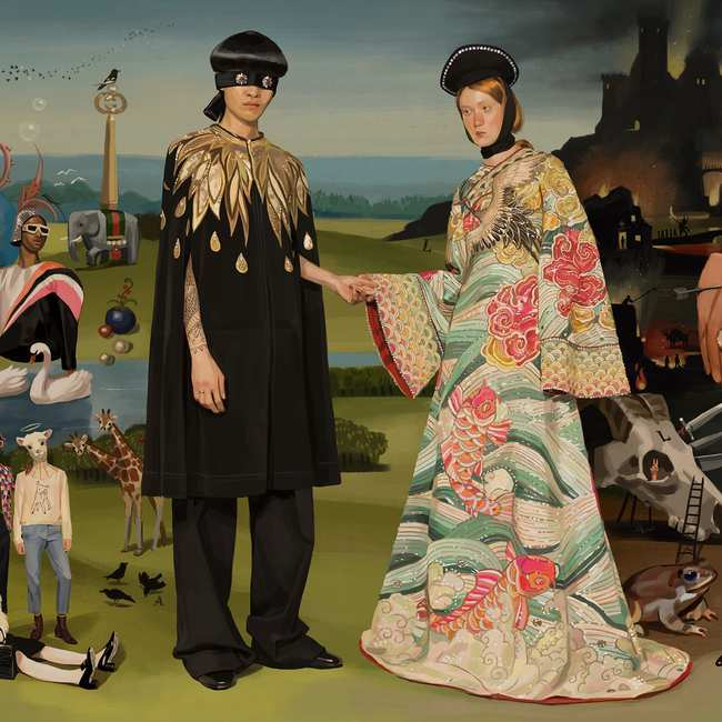 9093fad9 gucci asked spanish artist ignasi monreal to create a utopian fantasy