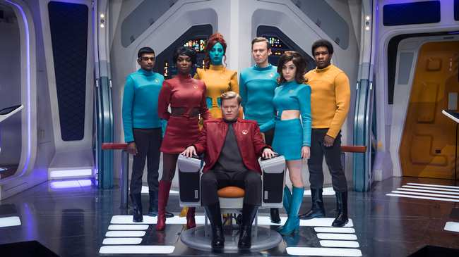 Resultado de imagem para William Bridges e Charlie Brooker, Written by USS Callister (Black Mirror)