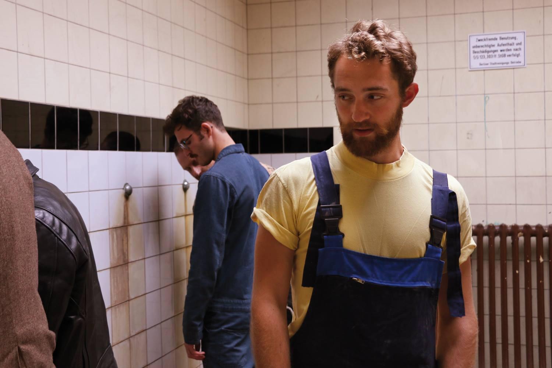 public bathroom sex video