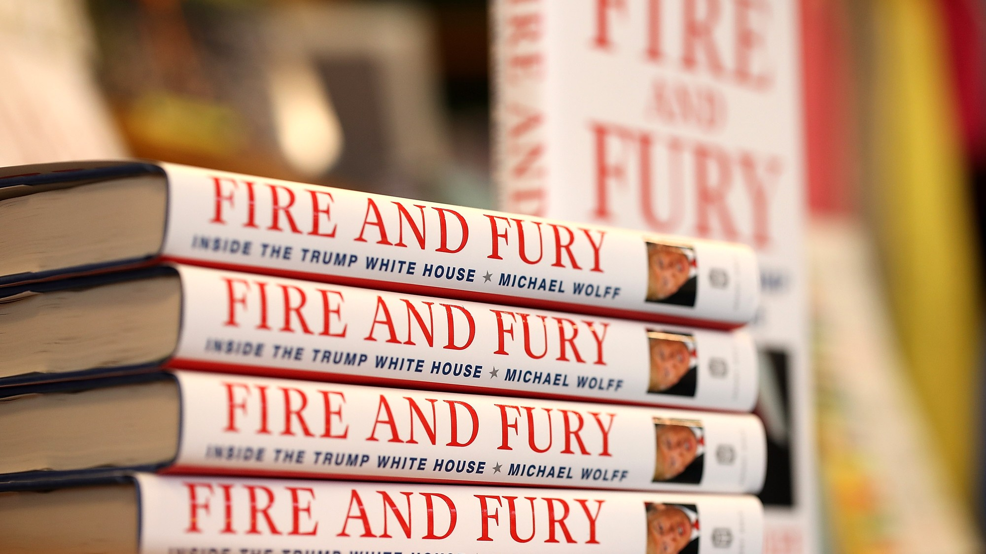Michael Wolff's 'Fire and Fury' Is the Most Pirated Book in