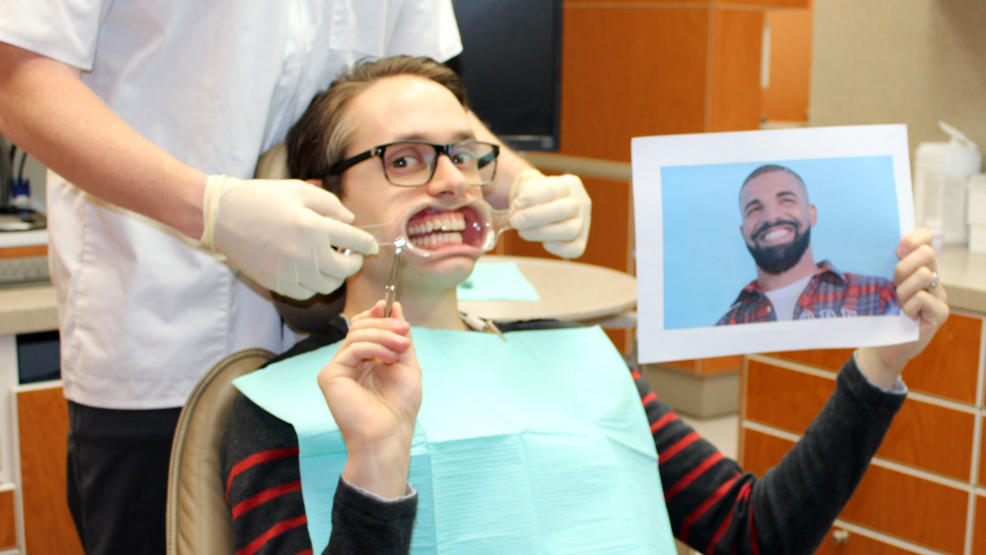I Asked My Dentist If I Should Get Drake's Diamond Tooth