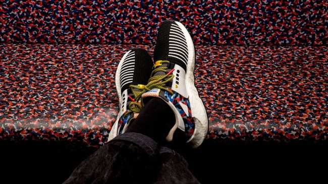 reputable site 551c6 39538 adidas latest shoe is made from berlin subway seats