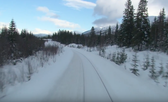 Climb Aboard the 'Slow TV' Train With This Glorious YouTube Channel