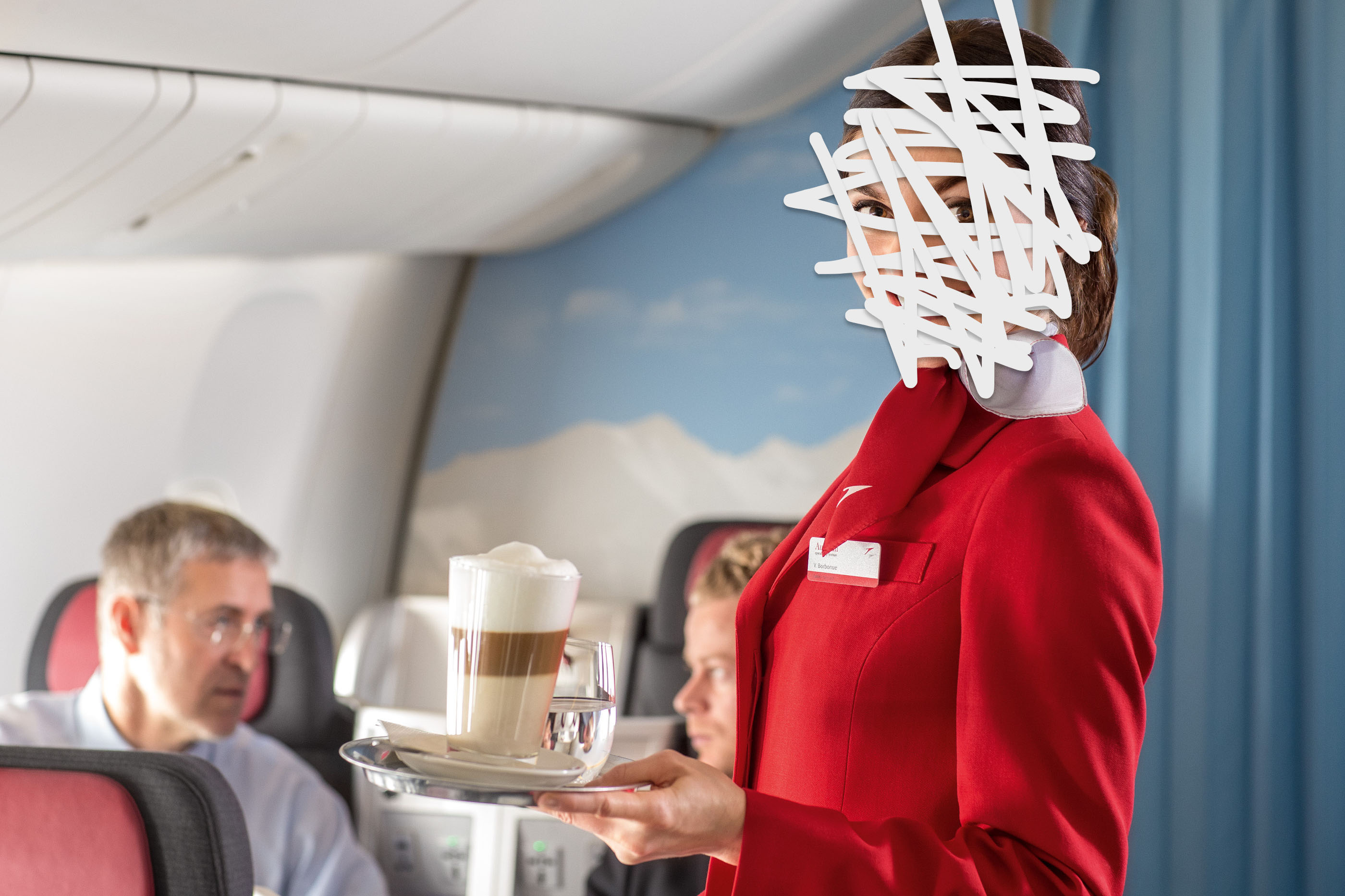 Stock Image (not Of The Flight Attendant We Interviewed) Via Wikimedia  Commons And Austrian Airlines