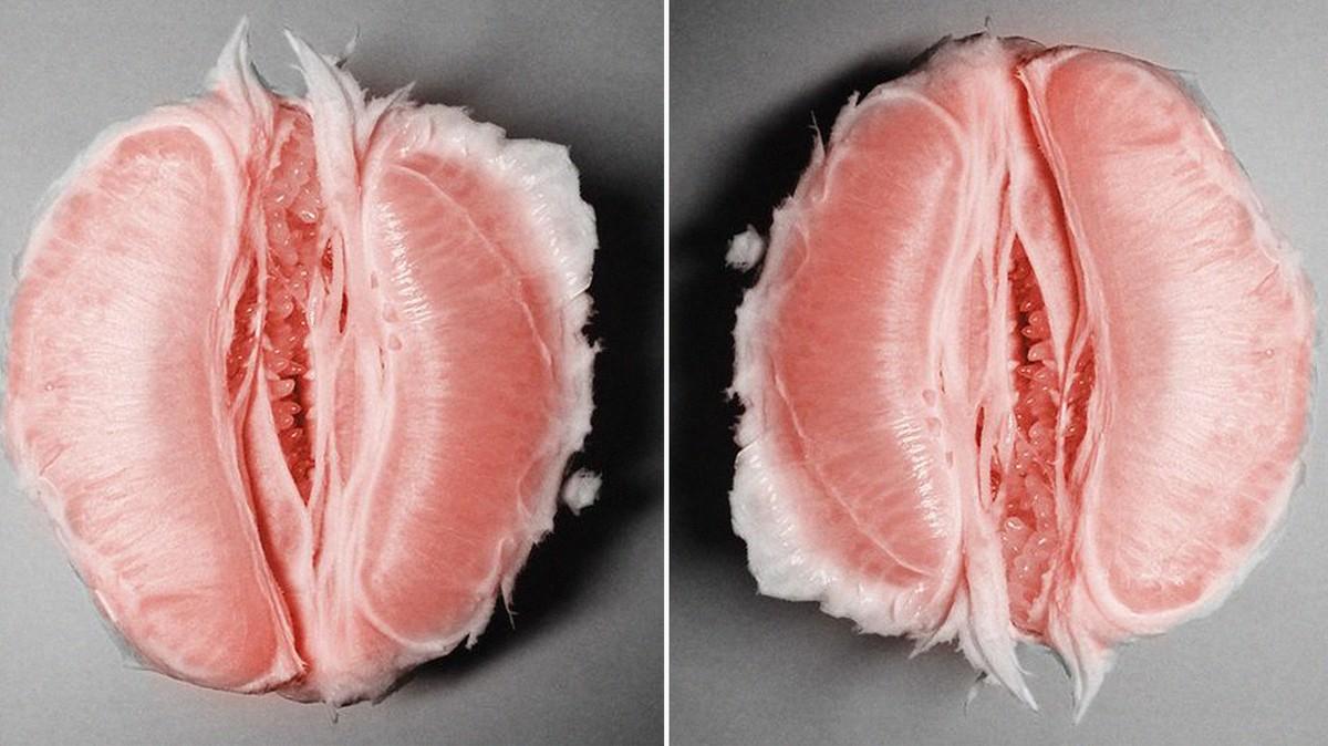 Увеличенные фото вагины