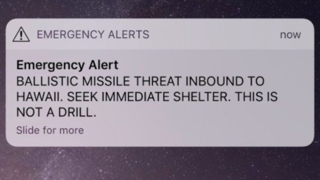 Hey, Hawaii: The Telecom Industry Lobbied Against Testing for Emergency Alert System