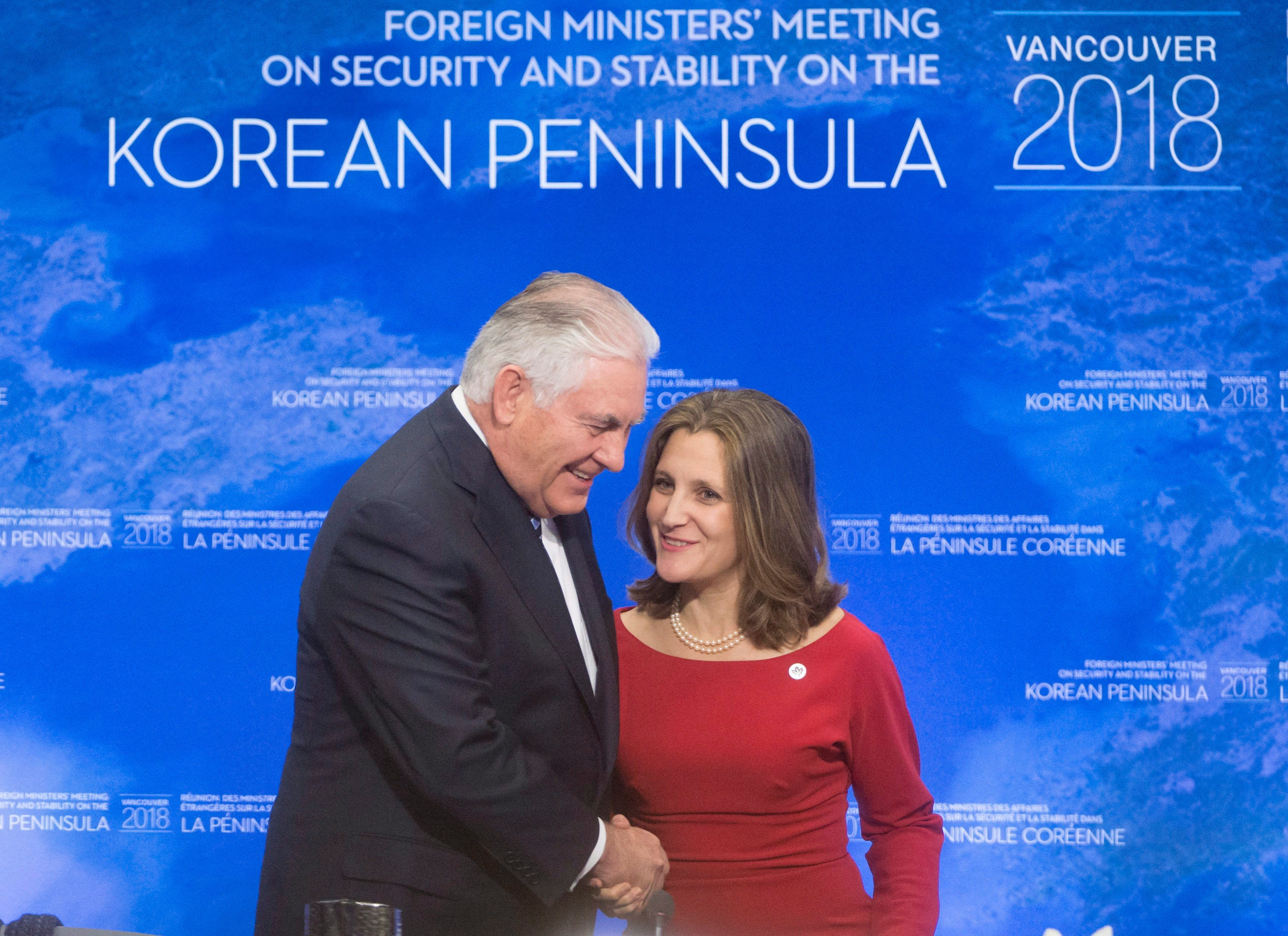 Image result for us canada north korea conference 2018