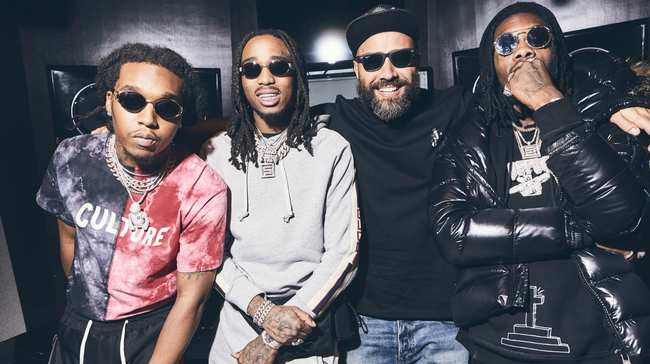 Pharrell Sat on the Beat for Migos'