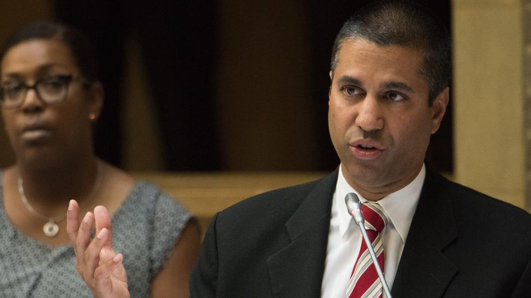 FCC chairman admits cell phone data is not the same as broadband Internet.
